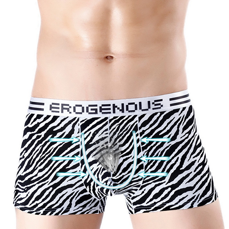 Dihope  2020 Breathable Ice Silk Men Fashion Underwear Pouch Printed Underpants Soft Briefs Shorts Undies Male Clothes Letter