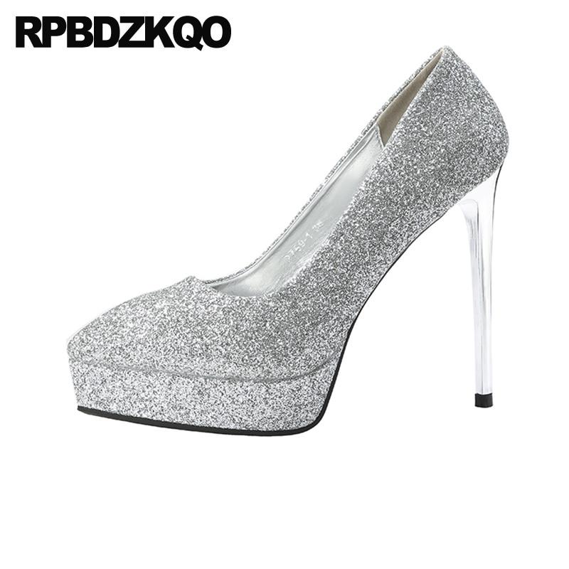 shoes slip on high heels ladies