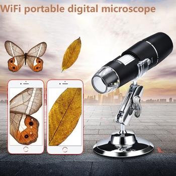 Mikroskop elektroniczny WiFi 1000X HD mikroskop cyfrowy ręczny mikroskop dziecięcy z 8 LED eksperyment lupa mikroskop tanie i dobre opinie NoEnName_Null NONE CN (pochodzenie) 500X-1500X W04-Z03B037 Z tworzywa sztucznego Wysokiej Rozdzielczości Mikroskop biologiczny