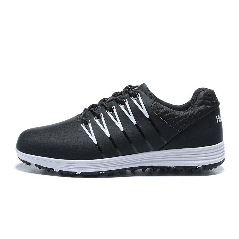 Sapatos de Golfe para Homens Ginásio de Borracha Sapatos de Couro dos Homens Sapatos de Golfe Sapatos de Treinamento Venda Quente Duro-vestindo Masculino Tamanho 39-44 2020