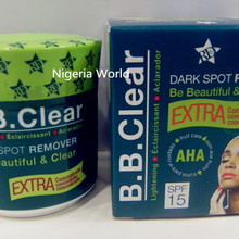 Free Delivery B.B Clear Black Spot Remover Face Cream /30g