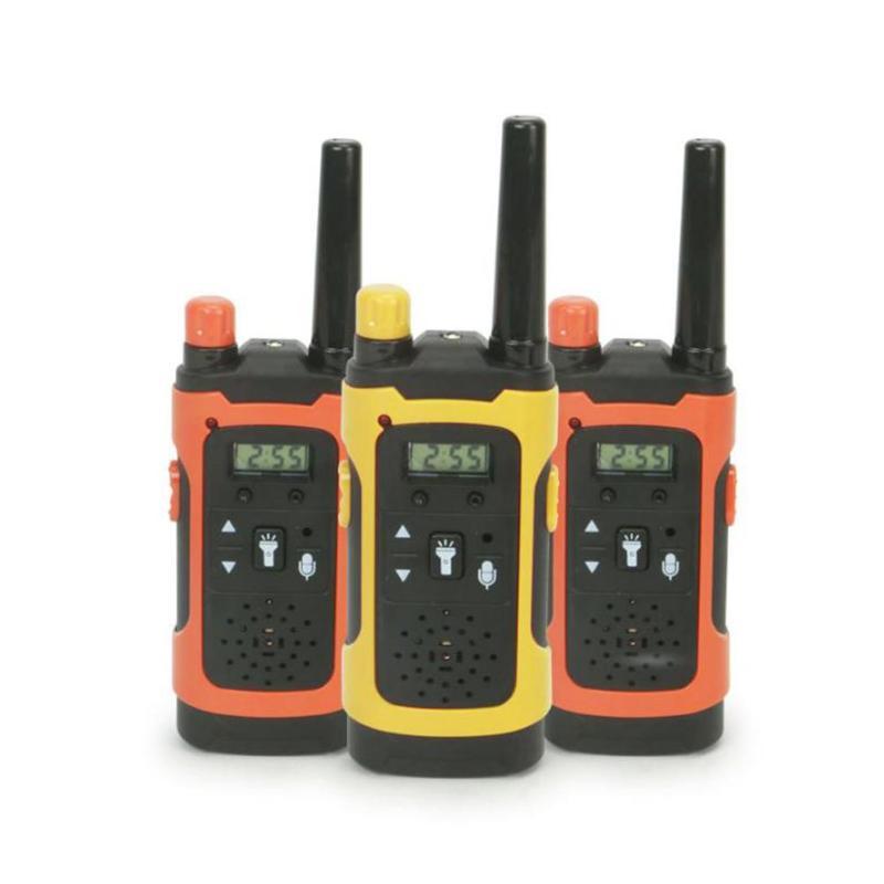 2 шт. мини 200-300 м детская иди и болтай Walkie Talkie s игрушка ребенок электронный радио голосовой домофон игрушка на открытом воздухе Беспроводной ...
