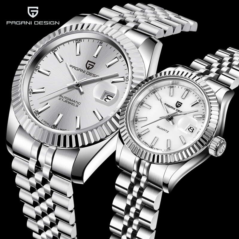 Nuevo reloj de pareja de 2020, diseño PAGANI, marca de lujo, reloj mecánico automático, reloj impermeable, reloj masculino, regalo de pareja Reloj Digital electrónico LED SKMEI para niños, reloj cronógrafo, relojes deportivos, 5Bar, relojes de pulsera impermeables para niños y niñas
