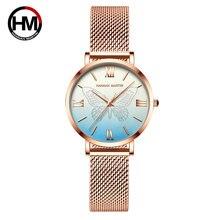 Часы наручные женские кварцевые водонепроницаемые уникальные
