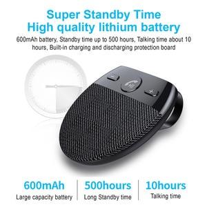 Image 5 - Phaany zestaw samochodowy Bluetooth bezprzewodowy zestaw głośnomówiący odbiornik Audio samochodowy odtwarzacz MP3 z obsługą mikrofonu 2 telefon podłączony