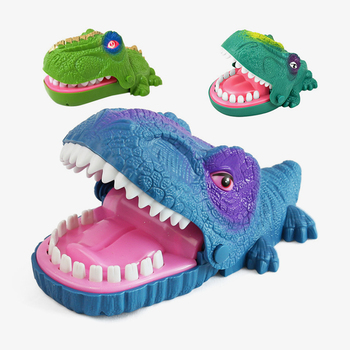 Parent-child Interactive Toys Family Game Funny Bite Finger Gags Toy Dinosaur Mouth Biting Finger Toys As For Children Gift plastic toy baby birthday gift desktop funny game tabletop shoot football fossball family parent child interactive educational