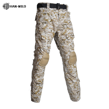 Military Uniform  Tactical Combat Shirt Us Army Clothing Tatico Tops Airsoft Multicam Camouflage Hunting FishingPants Elbow/Knee 7