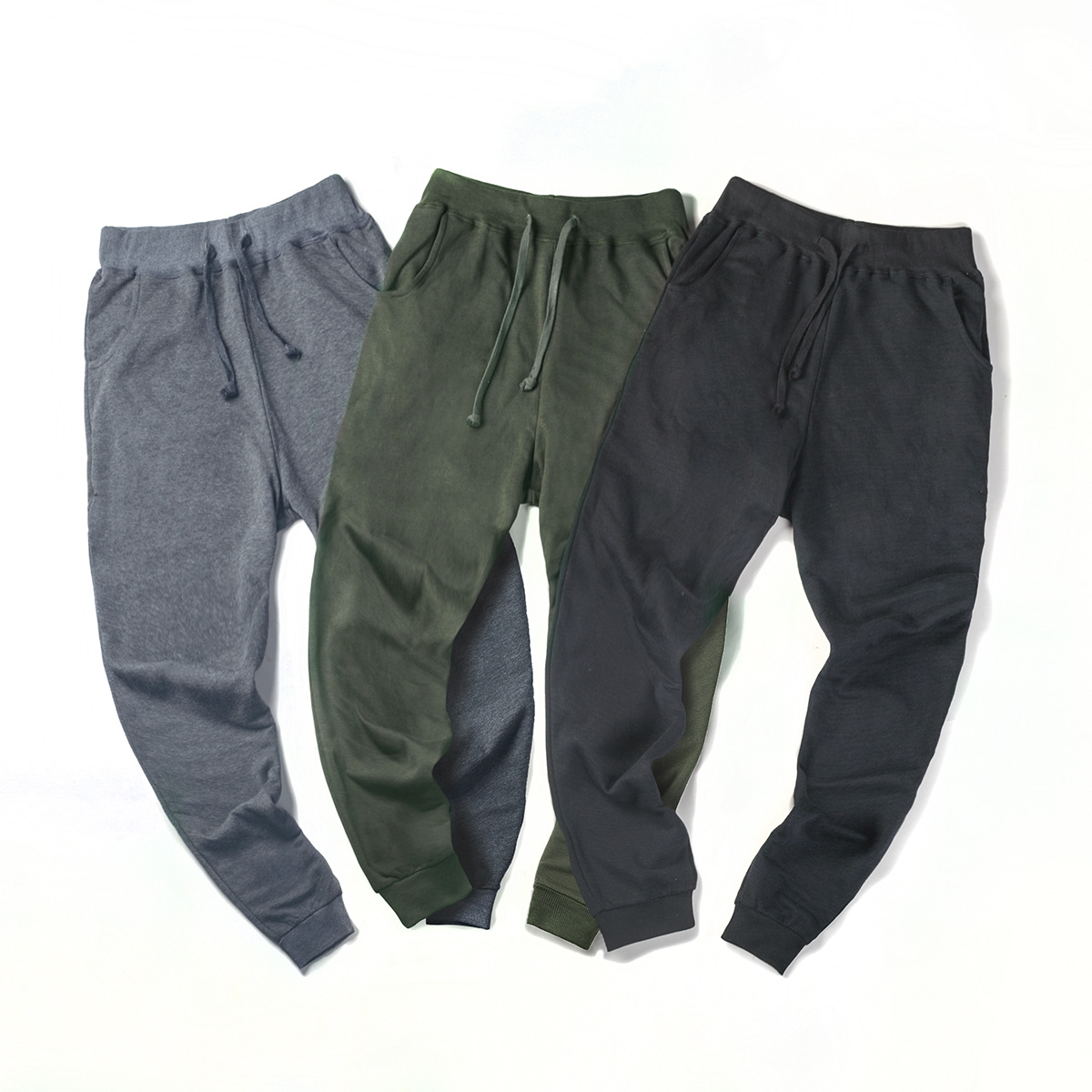 Hot Selling 2019 New Style Spring Extra Large Fashion MEN'S Sports Trousers Knitted Sweatpants Plus-sized Ankle Banded Pants