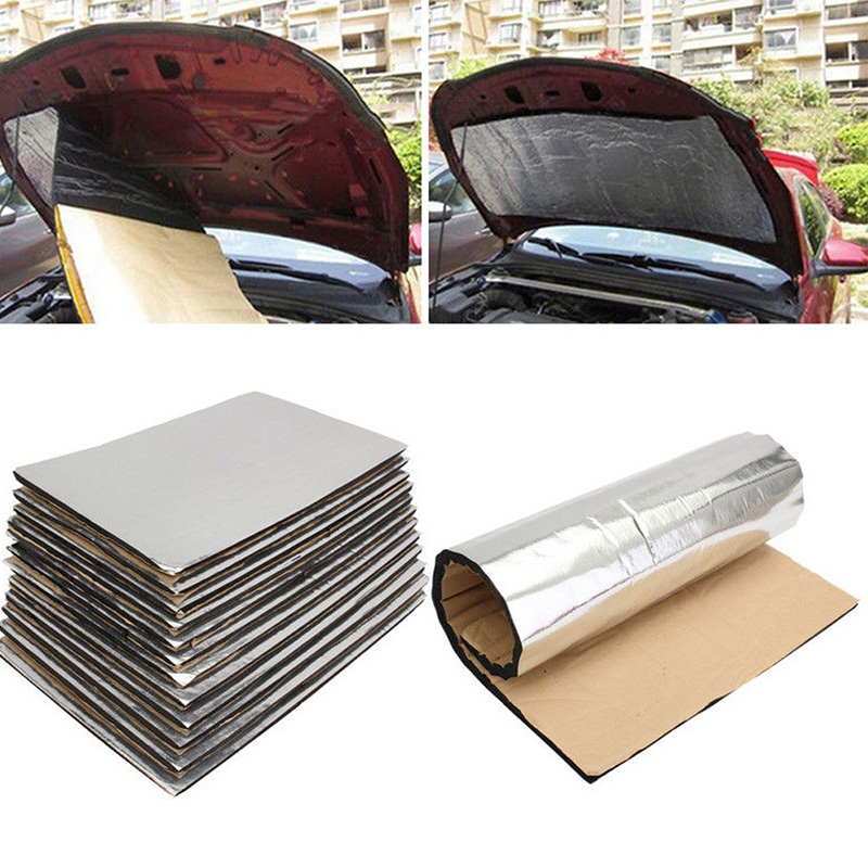 50*30cm Car Door Engine Hood Noise Insulation Pad For Bmw E46 E90 E60 E39 E36 F30 Lada Granta Chevrolet Cruze Lacetti Lexus