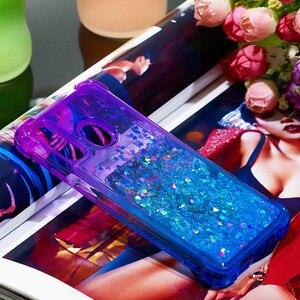 Image 4 - Fashion Phone Cases for Samsung Galaxy Note 10 Pro/Plus Note 10 Case for A40 A20e A10e Glitter Hearts Liquid Soft TPU Back Cover