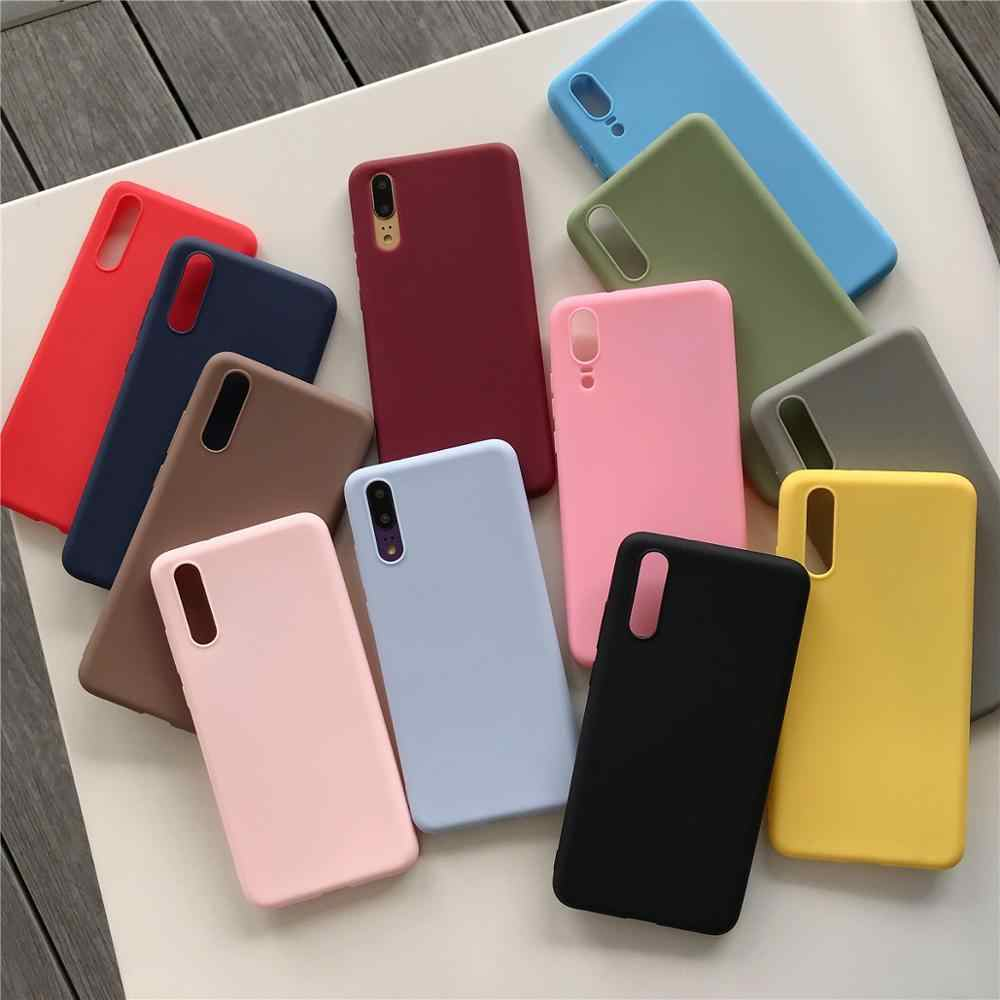 Silicone capa macia para huawei p10 p20 p30 lite caso doces capas de luxo para huawei p 10 20 30 lite pro p20lite telefone casos