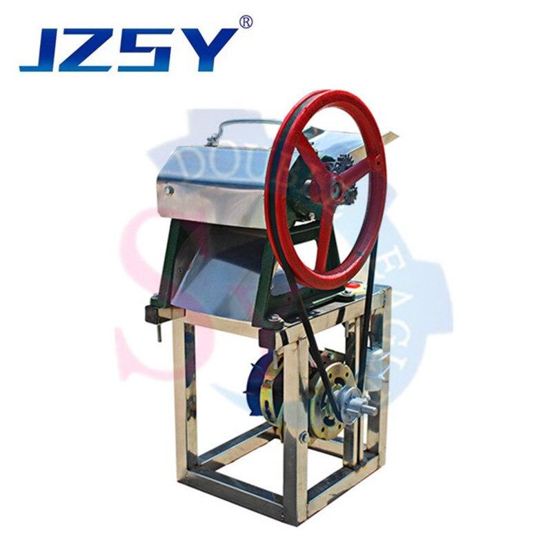 JZSY Commercial Kelp Cake Bar Cutter/electric CIndia Pizza Thin Pancake Bar Strip Cutting Stripping Machine 3mm 5mm 7mm 9mm