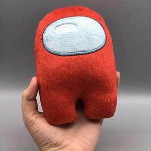 Плюшевая плюшевая игрушка, плюшевая игрушка с музыкой, кавайная набивная кукла, рождественский подарок, милый красный маленький плюшевый п...