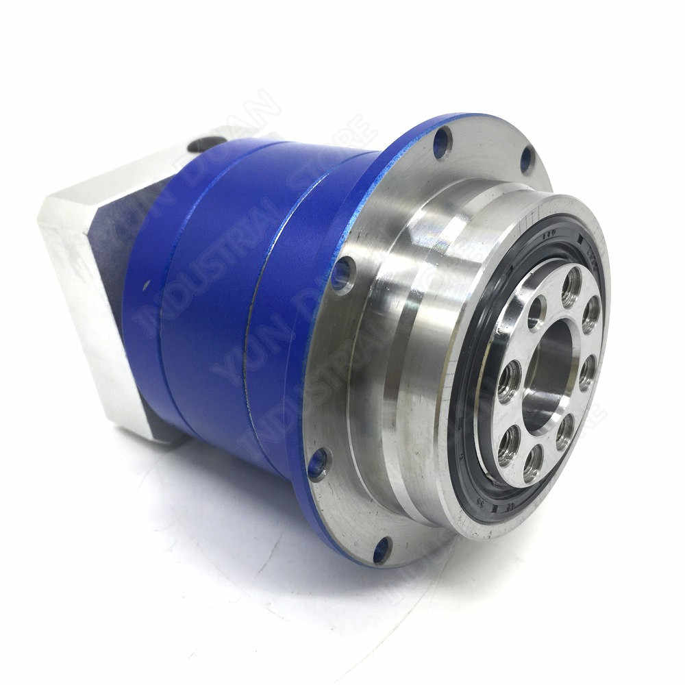 70:1 מקורבות פלט פלנטריים 19mm קלט תיבת הילוכים הילוך סליל מפחית 5 Arcmin 90Nm עבור 750W סרוו מנוע רובוט CNC
