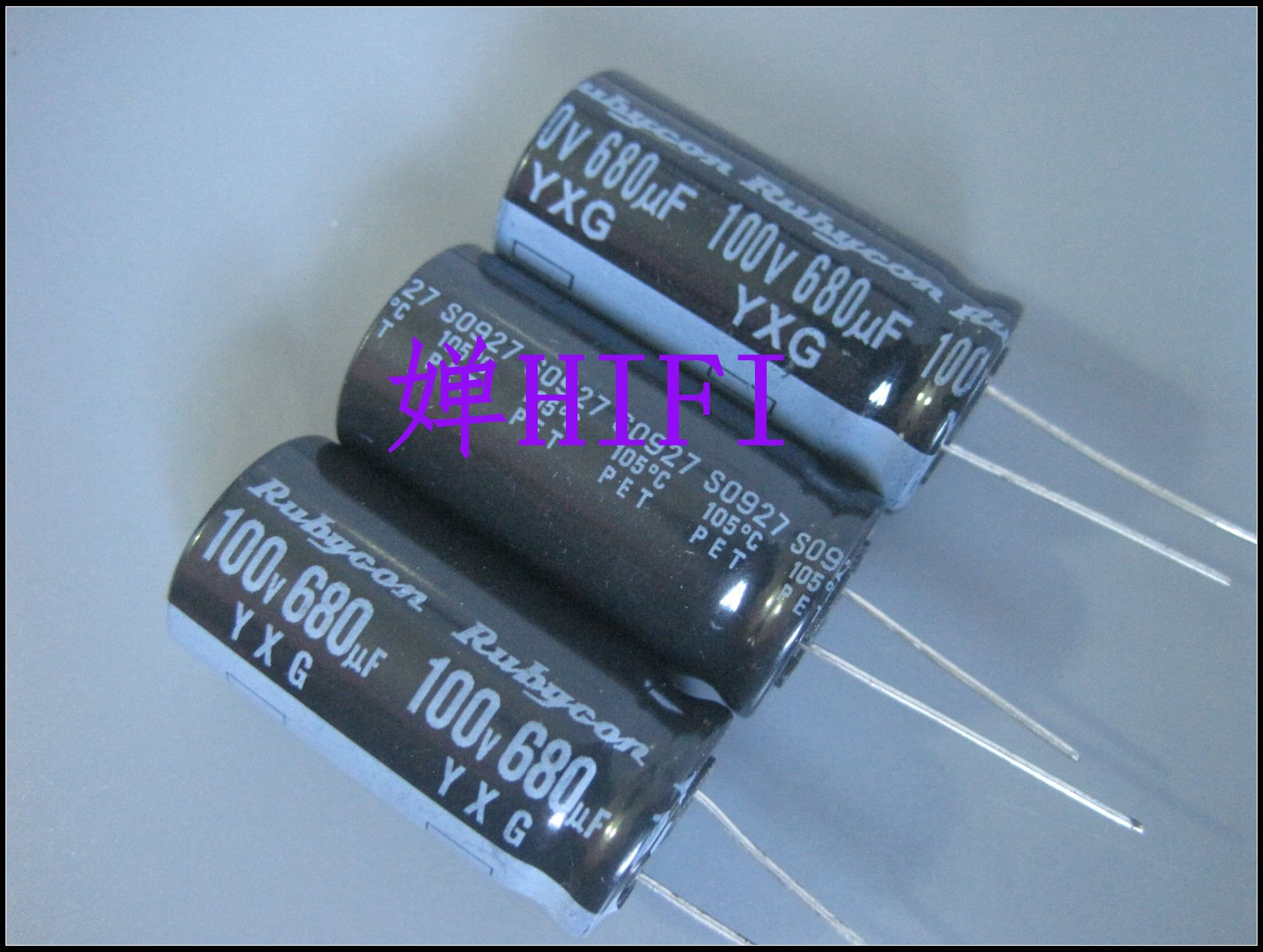 10PCS RUBYCON yxg 680uf 100v 18x35.5MM electrolytic capacitor YXG 100V680UF high frequency low resistance long life 680uF/100V image