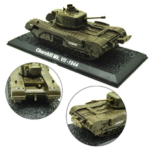 1PC 1/72 British Army World War II Infantry Tank Alloy Finished Product Model For Diorama Wargame Scene And Tank Collection недорого