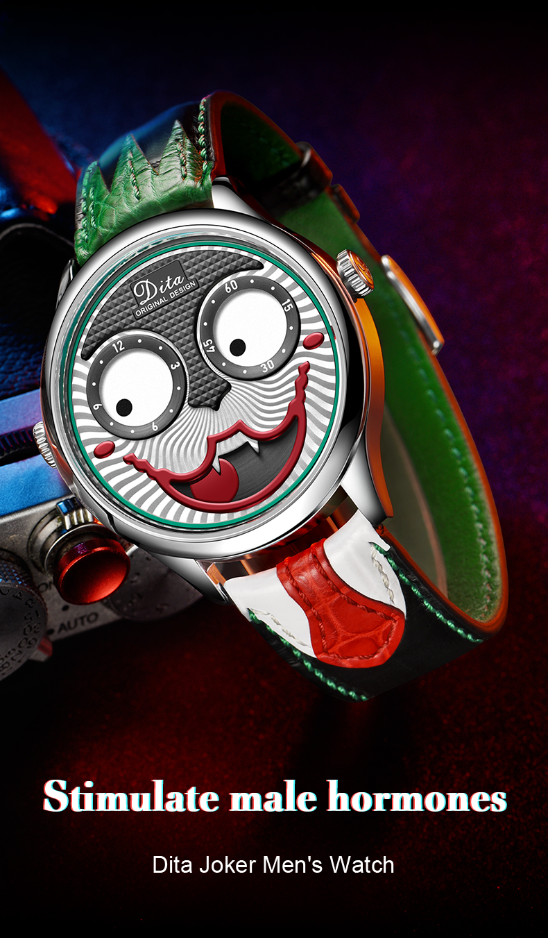 New Arrival 2020 Joker Watch Men Top Brand Luxury Fashion Personality Alloy Quartz Watches Mens Limited Edition Designer Watch