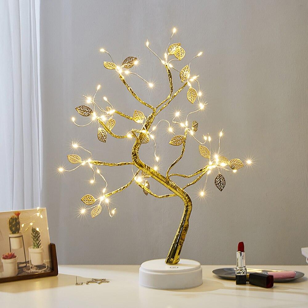 Luzes decorativas do desktop estrela árvore candeeiro de mesa nordic decoração para casa sala estar quarto decoração acessórios presentes aniversário