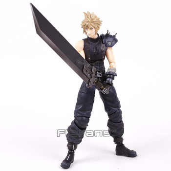 Play Arts Kai Final Fantasy Cloud Strife Sephiroth Noctis Lucis Caelum PVC Action Figure Collectible Model Toy