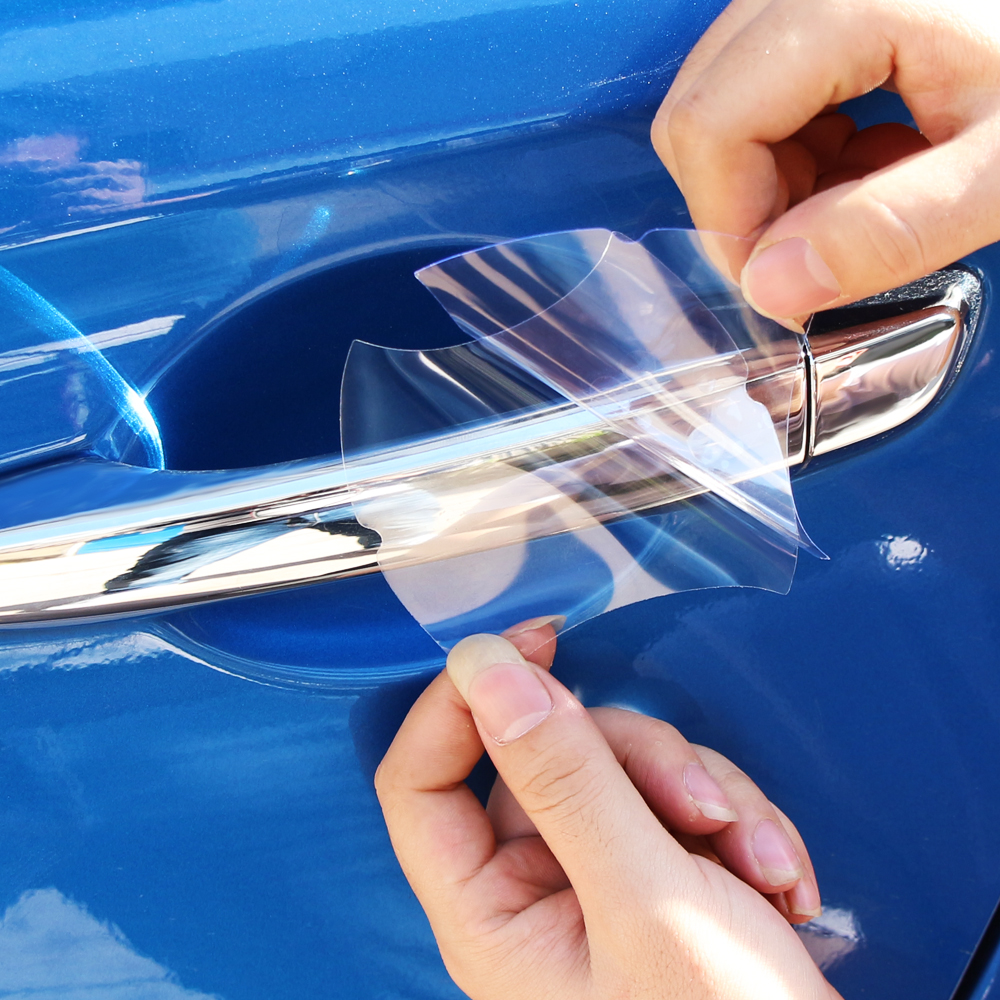 Película protetora do punho do carro transparente para lexus rx lx gx é nx x ls gs es rc lc ct200h rx300 rx330 rx350 rx270 rx450h