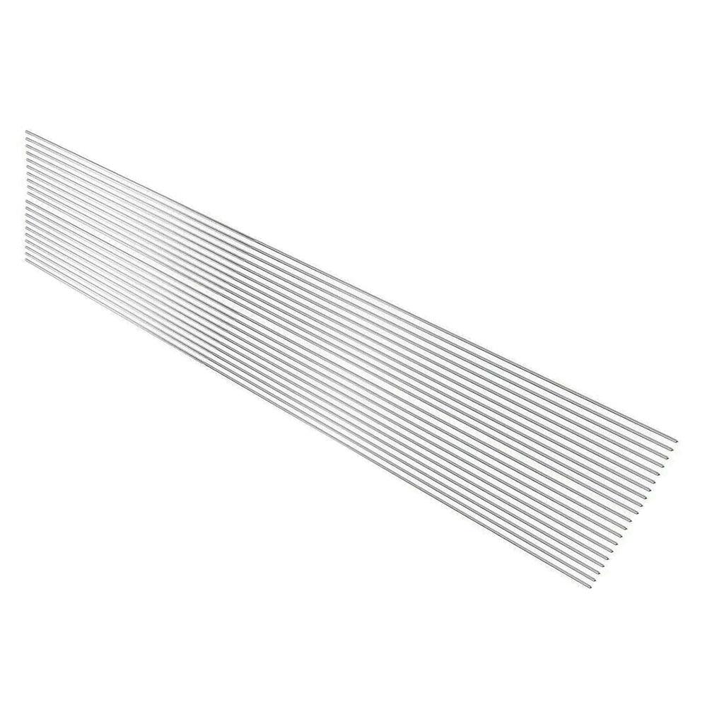 20x Low Temperature Aluminum Welding Solder Wire Brazing Repair Rods Easy Tool 50 Cm *1.6 Mm Aluminum Welding Wires