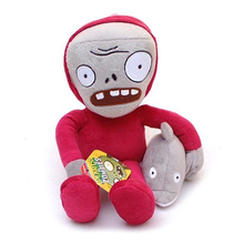30cm Plants vs Zombies 2 PVZ Dolphin Rider Zombie Plush Toys Soft Stuffed Toys Doll for Kids Children