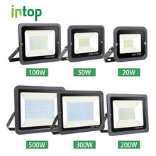Led Wall Washer Spotlight Schijnwerper 10W 20W 30W 50W 100W 150W 200W 300W 500W Waterdichte Reflector IP65 220V Overstroming Licht Outdoor(China)