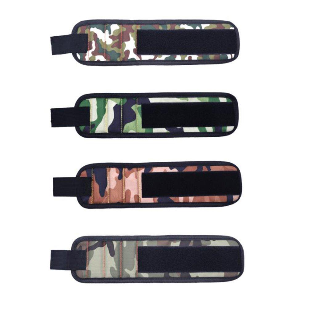 Magnetic Wristband Wrist Band Tool Kit Set Belt Bracelet For Holding Screws Nail