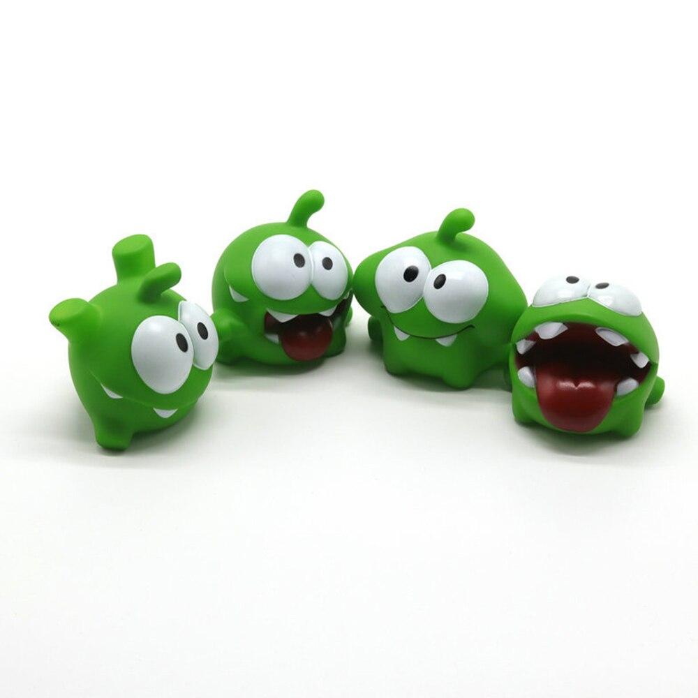 1PCS Mung Bean Frog Cut Rope Frog Cartoon Doll Pinch Called Home Decoration Plastic Cartoon Toy Dropshiping