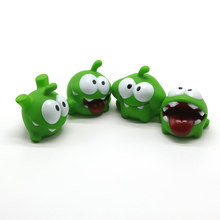 1PCS Mung Bean Frog Cut Rope Frog Cartoon Doll Pinch Called Home Decoration Plastic Cartoon Toy Dropshiping(China)