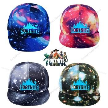 Fortnite Starry Sky Hats Luminous Cap Men Cool Fortnight Anime Baseball Caps Adjustable Kpop Snapback Game Toys Gift 1