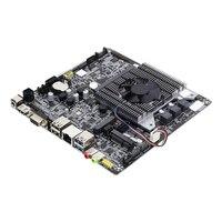 미니 ITX 17x17cm 마더 보드 미니 셀러론 N2830 2.0GHz 냉각 팬 DDR3 데스크탑 메인 보드 ITX 마더 보드 온보드 CPU PCI-E