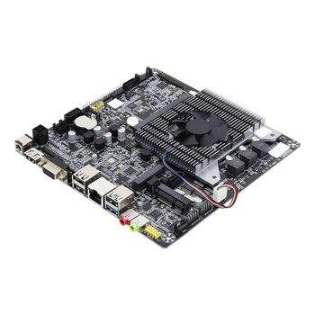 Mini ITX 17x17cm Motherboard Mini Celeron N2830 2.0GHz cooling fan DDR3 Desktop Mainboard ITX Motherboard Onboard CPU PCI-E 12 12cm baytrail motherboard with dual lan quad core mainboard j1800 nano itx motherboard oem itx n29 18