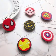Wholesale Universal Marvel Spiderman mobile phone stand stretch bracket Cartoon air bag Phone Expand