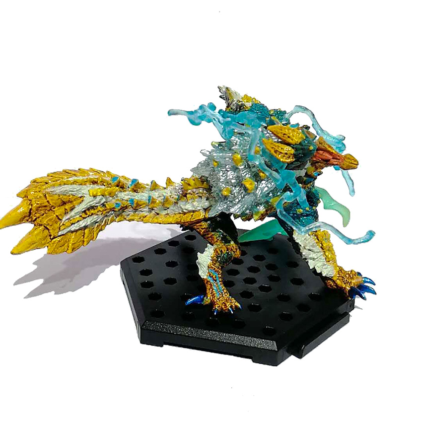 Original Monster Hunter World Generations Ultimate Dragon Model Collectible Monsters Action Figure Toys for Children Gift