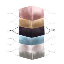 Máscara ajustável para homem pm2.5 dustproof boca caps reutilizáveis protetor solar de dois andares máscara de seda mascarilla bocas lavable
