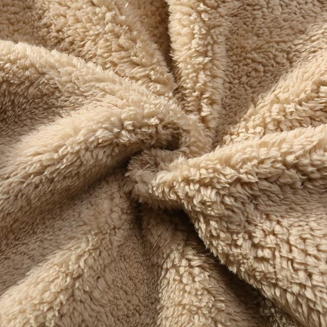 Men's Winter Pants Classic brand sweatpants super Warm Thick Pants cashmere Trousers For Men fleece Male long outdoors Pants men 2