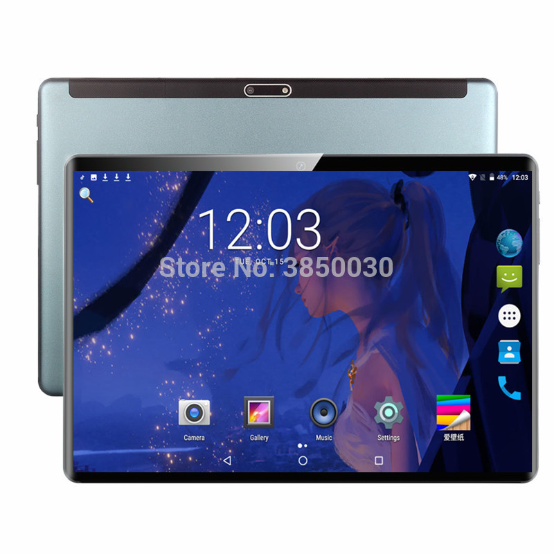 New Arrival 10.1 Inch Android 7.0 Google Play 3G Phone Call Tablets WiFi Bluetooth GPS 2.5D Tempered Glass 10 Inch Tablet Pc