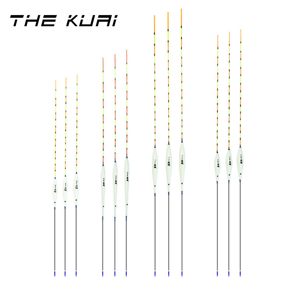 TheKuai Fishing Floats Buoy Bobber Stick For Fish Tackle Vertical Fishing Accessories Tackle Float Buoy Bobber Stick 1pcs