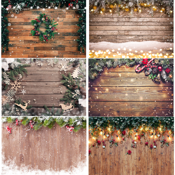 Christmas Photography Background Photophone Photozone Vinyl Cloth Backdrops for Photographer