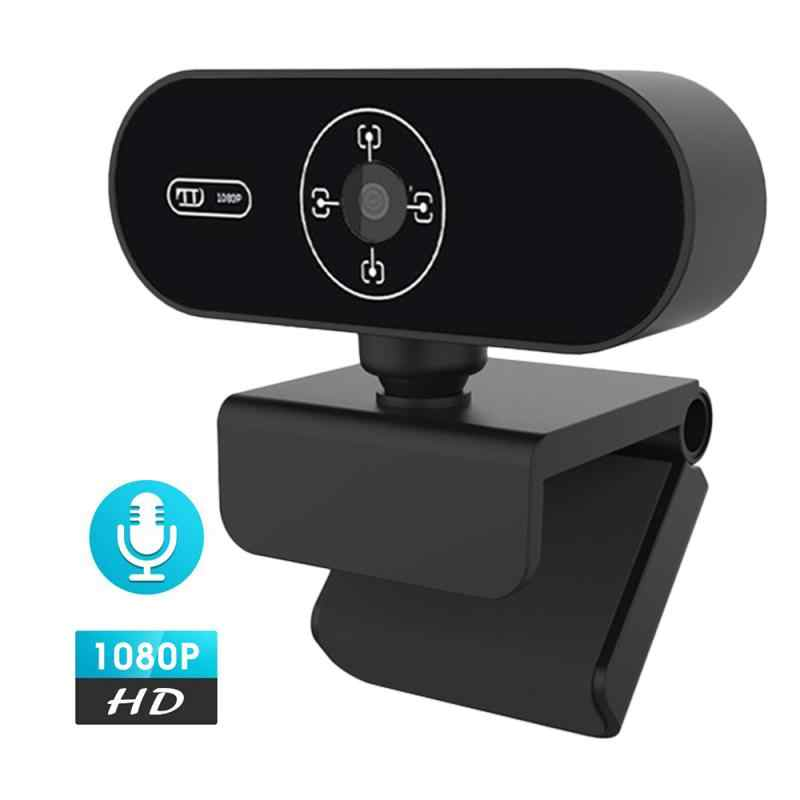 Cámara Web 480P/720P/1080P Full HD Webcam con micrófono incorporado USB Plug Webcam para ordenador PC Macbook Laptop Desktop