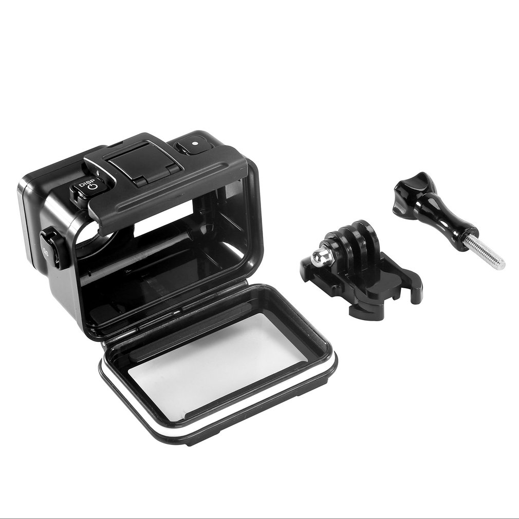 Black gold steel waterproof Case Underwater Diving Protective Housing Shell For DJI Osmo Action Sports Camera Accessories