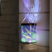 Children's Room Starry Sky Atmosphere Lights Led Starry Night Sky Projection Lights with Remote USB Rechargeable
