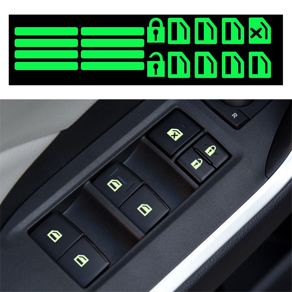 Автомобильная наклейка, светящаяся наклейка на окно автомобиля для hyundai tucson i30 ix25 creta ix35 HB20 solaris getz i25 Accent Azera|Наклейки на автомобиль|   | АлиЭкспресс