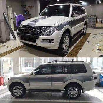 цена на SUV sticker pull flower color strip Pajero V93 V97 body exterior decoration sticker For Mitsubishi Pajero V93 V97 2019