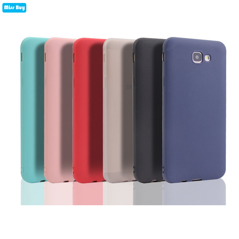 Candy Color Silicone Cases For Samsung galaxy J2 J5 J7 Prime C5 C7 C9 Pro S11 S11E A51 A71 J7 Plus C8 Case Slim Soft TPU Cover image