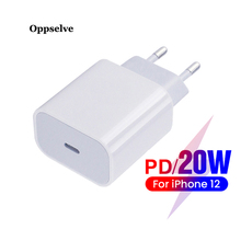 Type-C-Charger iPhone 12 Travel Usbc-Usb-C 20w Usb Oppselve for Pro-Max 11/Quick-charge/4.0/3.0