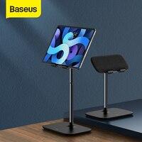Baseus-soporte de teléfono de escritorio de aluminio, ángulo de altura ajustable, para iPhone 12 11 Pro XS XR Huawei Tablet
