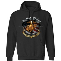 USMC Marine Corps,The Few The Proud Last Stand New Design Licensed Mens Neutral Winter Hoodies Sweatshirts Free Shipping