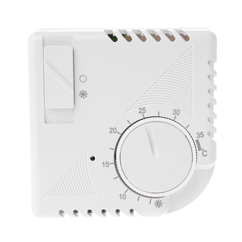 Universal Room Thermostat Energy Save Mechanical Temperature Controller W Switch 40JE